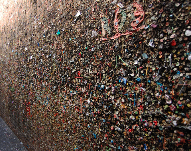 Sticky bubble gum alley, Hamilton Lindley Blog