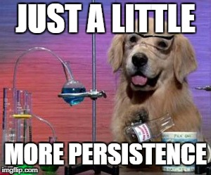 Dog Scientist Little More Persistence Hamilton Lindley Blog