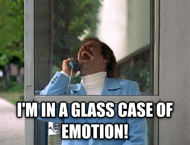 I'm in a glass case of emotion! Hamilton Lindley Blog